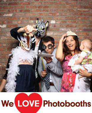 Roundhouse at Beacon Falls Photo Booth Image