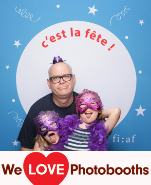 French Institute Alliance Francaise Photo Booth Image