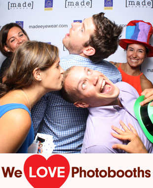 NY Photo Booth Image from Beekman Beer Garden Beach Club in New York, NY