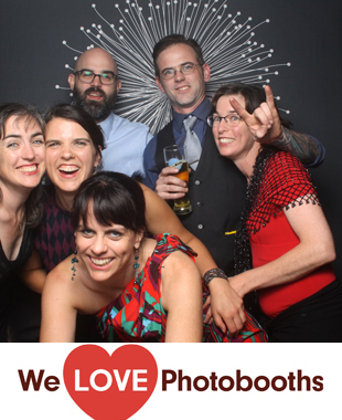 NY Photo Booth Image from Studio Square in Long Island City, NY
