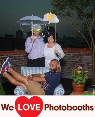 Client's Residence Photo Booth Image