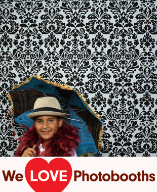 NY Photo Booth Image from Client's House in North Haven, NY