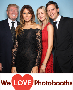 Trump National Golf Club Photo Booth Image