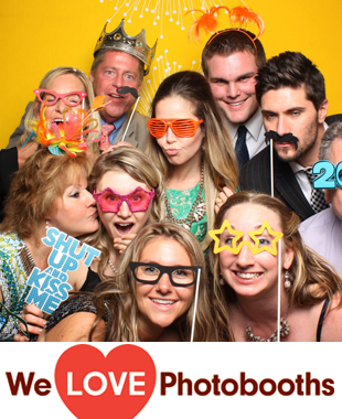 NJ Photo Booth Image from Hamilton Park Hotel in Florham Park, NJ