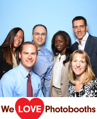 CT  Photo Booth Image from Pitney Bowes WHQ in Stamford , CT