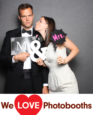PA Photo Booth Image from Ballroom at the Ben in Philadelphia, PA