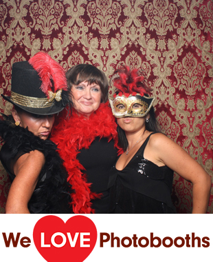 NY Photo Booth Image from Signature Restaurant in New York, NY