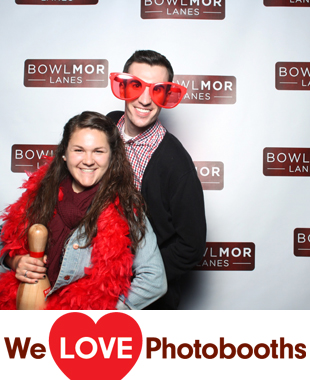NY  Photo Booth Image from Bowlmor Chelsea Piers in New York, NY