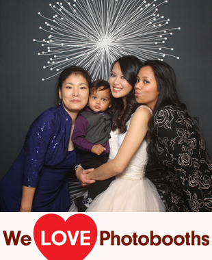 NJ Photo Booth Image from The Brownstone in Paterson, NJ