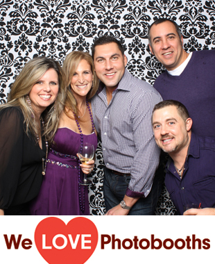 CT Photo Booth Image from Weston Field Club in Weston, CT