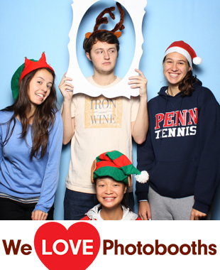 PA Photo Booth Image from Houston Hall - Wynn Commons in Philadelphia, PA