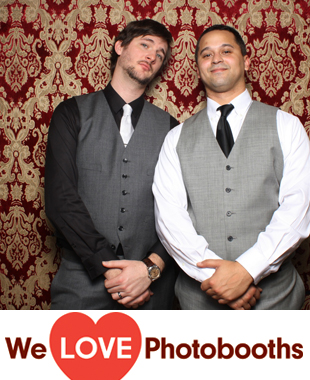 PA Photo Booth Image from The Stotesbury Mansion in Philadelphia, PA