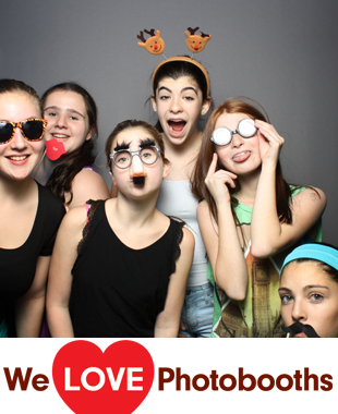 NY Photo Booth Image from Bounce Trampoline Sports in Valley Cottage, NY