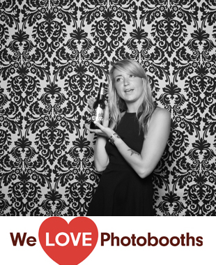 NY Photo Booth Image from Lucky Strike in New York, NY