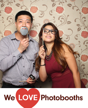 NJ Photo Booth Image from Florentine Gardens in River Vale, NJ