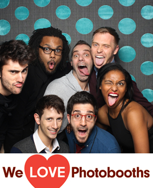 NY  Photo Booth Image from The Public Theater in New York, NY