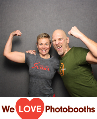 PA Photo Booth Image from Crossfit in Doylestown, PA