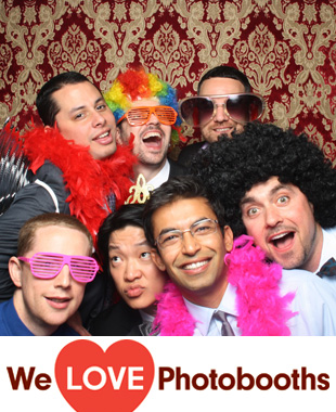 New York Photo Booth Image from Del Posto Restaurant in New York, New York