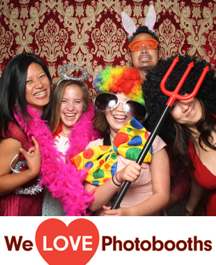 Del Posto Restaurant Photo Booth Image